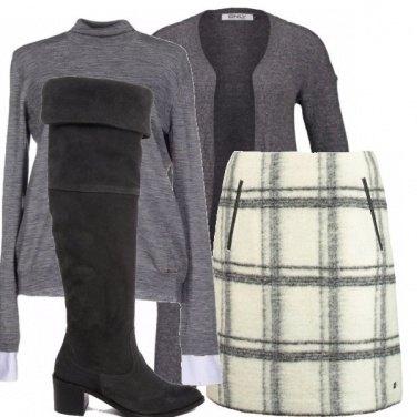 Outfit Grey&white_saldi