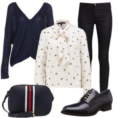 Outfit La camicia e la stringata