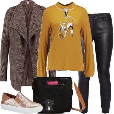Outfit Gattini e fintapelle