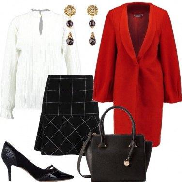 Outfit Il cappotto che scalda
