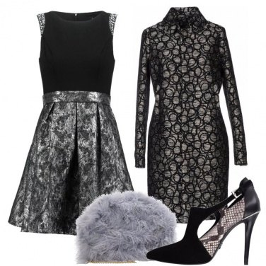 Outfit Eleganza variegata