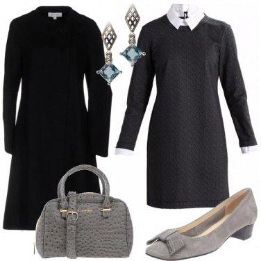Outfit Sobrio e discreto