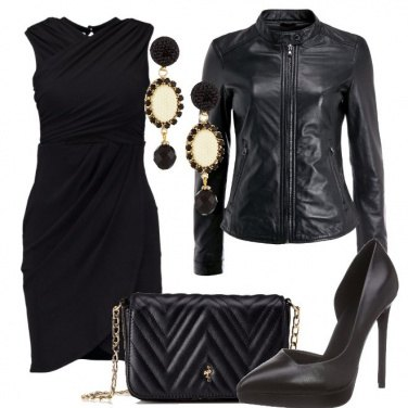Outfit Serate in nero
