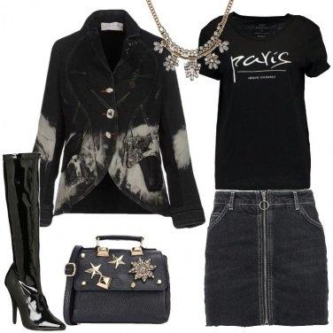 Outfit Viva il nero