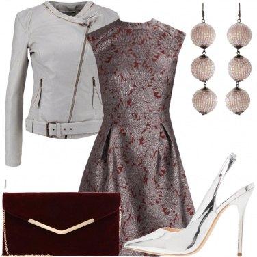 Outfit Décolleté silver