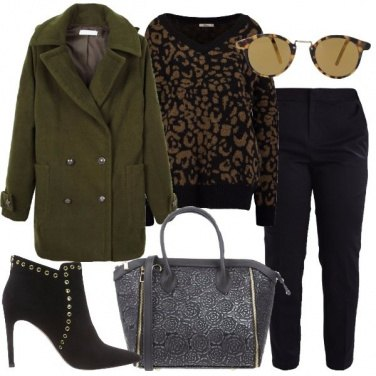 Outfit Il giaccone militare