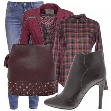 Outfit Tronchetto&blazer_saldi