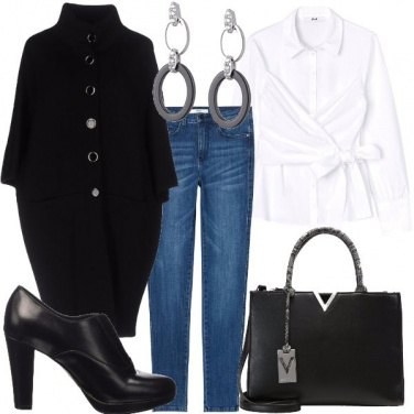 Outfit Cappotto a uovo