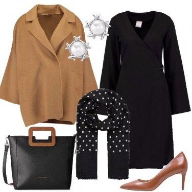 Outfit Il cappotto cammello