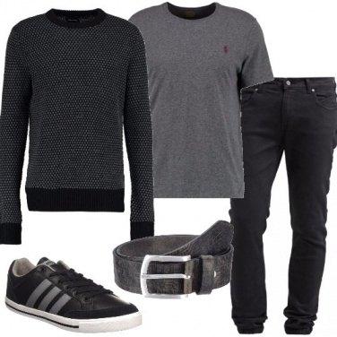 Outfit Jeans vestibilità slim