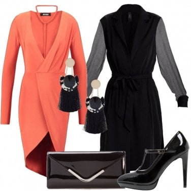 Outfit Corallo sexy