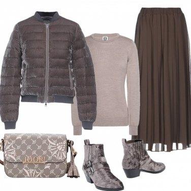 vendita calda online 9e2db 22153 Come abbinare la gonna con bande laterali: 86 Outfit Donna ...