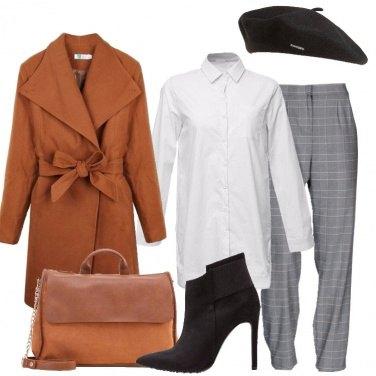 Outfit Il basco nero