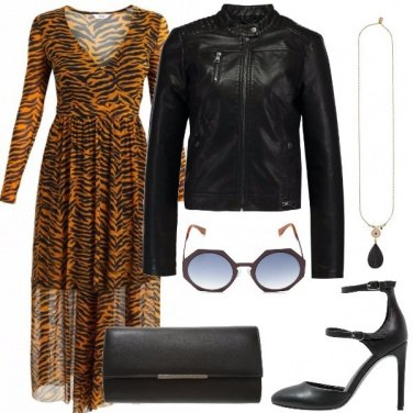 Outfit Abito animalier