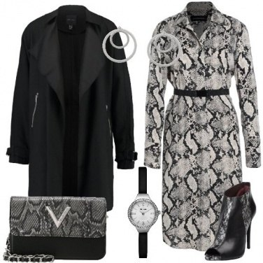 Outfit L\'abito animalier