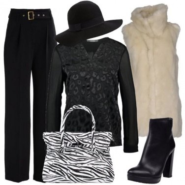 Outfit Indole animale