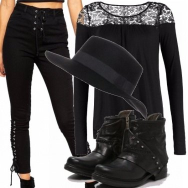 Outfit Black moon
