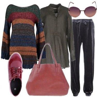 Outfit La maxi borsa
