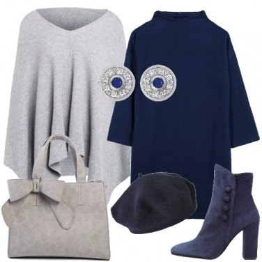 Outfit Il basco blu