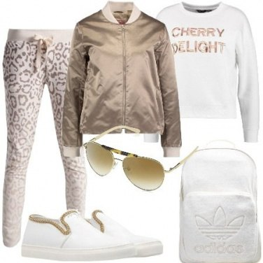 Outfit Bomber e animalier