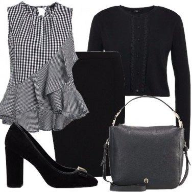 Outfit Una blusa fantasia
