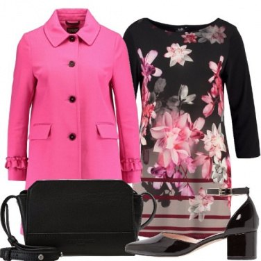Outfit In fucsia