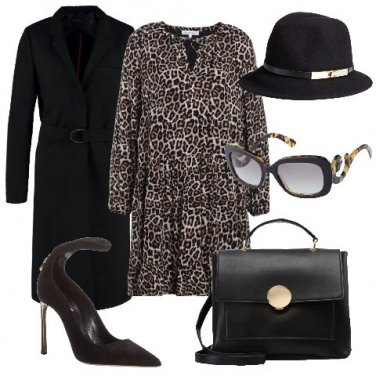 Outfit Animalier sull\'abito