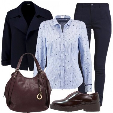 Outfit Camicia e stringata
