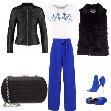 Outfit Mix in blu china