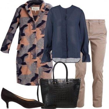 Outfit Pantaloni e camicetta