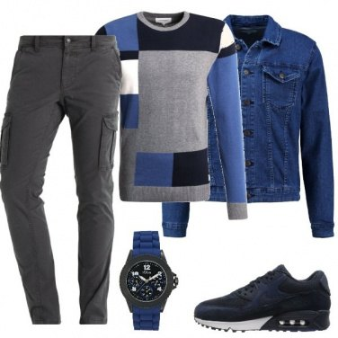 Outfit Il pantalone cargo