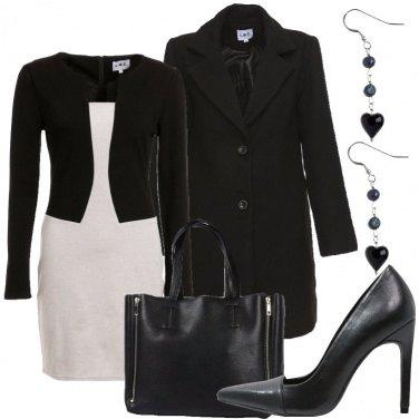 Outfit Con le calze a rete
