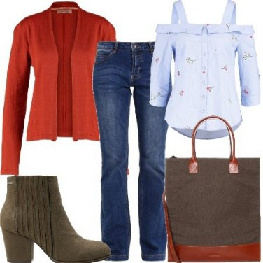 Outfit Jeans a lavoro