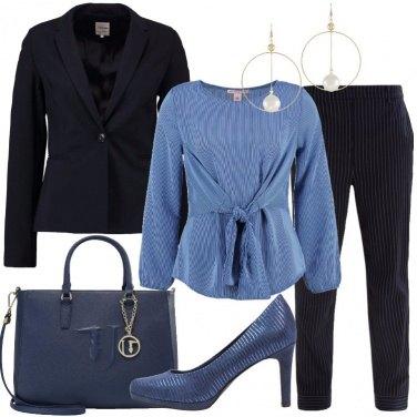 Outfit La camicetta a righe