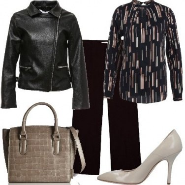Outfit La mia giacca in similpelle