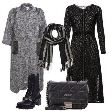 Outfit L\'anfibio di pelle