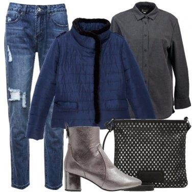 Outfit Jeans boyfriend