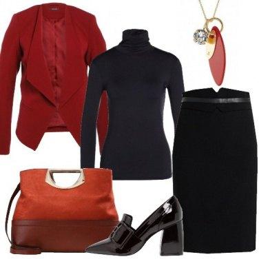 Outfit Il nero in ufficio