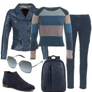 Outfit Blu per tutti i giorni