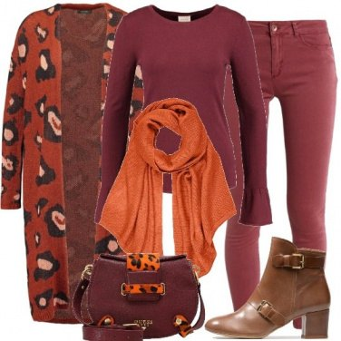 Outfit Animalier colorato
