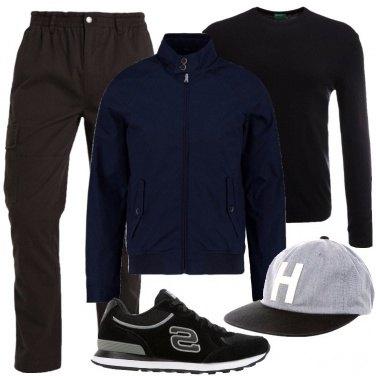 Outfit Pantaloni cargo