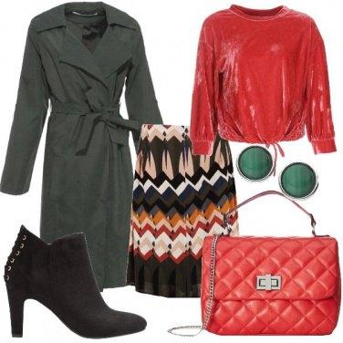 Outfit La felpa in velluto
