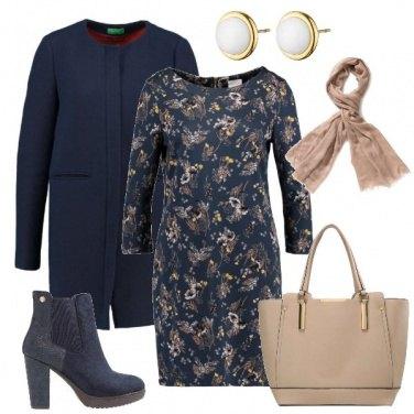 Outfit Il cappotto blu