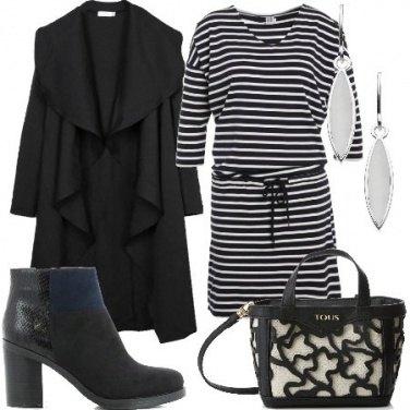 Outfit Cappotto e tronchetto