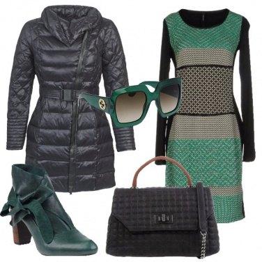 Outfit Tronchetti con il fiocco