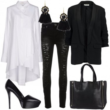 Outfit La camicia oversize