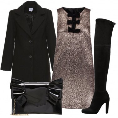 Outfit Fiocco nero