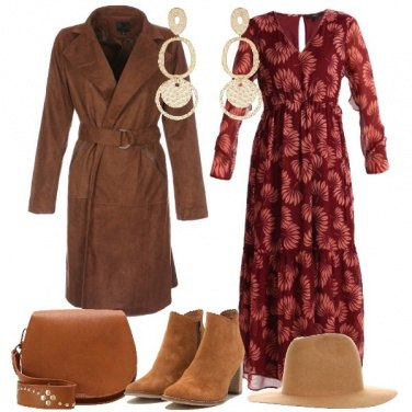 Outfit Long dress in stile boho