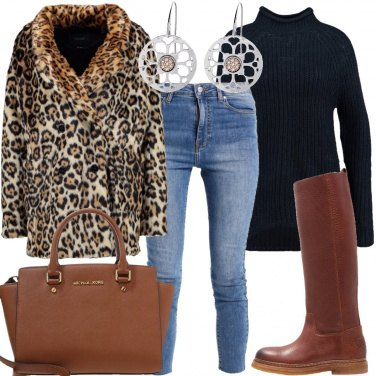 Outfit A spasso animalier