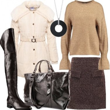 Outfit Pullover e stivali cuissard